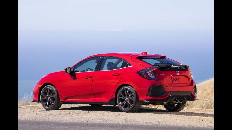 Honda Civic Type R (Hatchback) 320 сил и передний привод