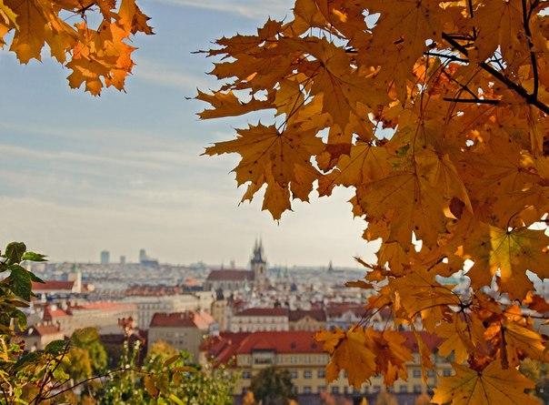 Прага осень скачать