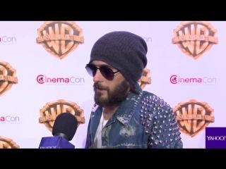 29.03.2017 • Интервью | Yahoo | CinemaCon | Лас-Вегас