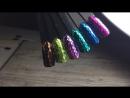 Блёстки ромбики Crystal nail shop