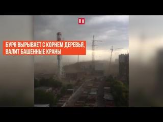 Ураган в Москве и Подмосковье. Как это было?