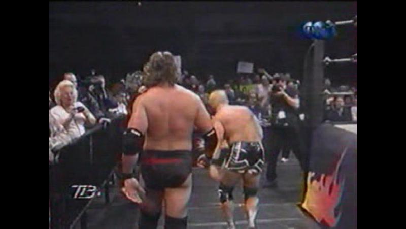 Титаны реслинга на ТНТ и СТС WCW Nitro December 18 2000