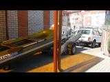 Прицеп Трейлер Прораб дооборудованный для перевозки лодки