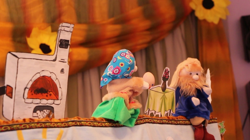 Кукольный театр для детей младшего дошкольного возраста. ЯрПК. Практика пробных занятий