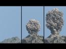 Имитация извержения вулкана в Maya