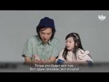 Дети отвечают художнику на вопрос- Что такое любовь