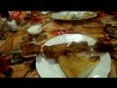 Заказали в Ресторане Баку шашлык из сома,это ресторан азербайджанской кухни мне шашлык понравился