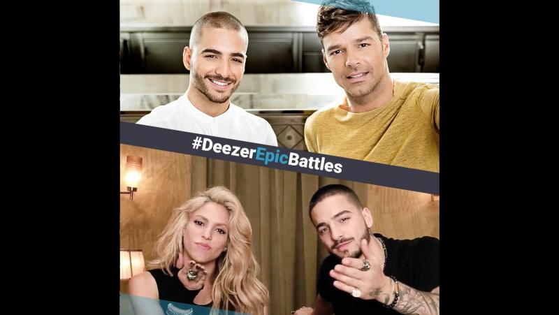 Deezer Epic Battle: Шакира или Рики Мартин?