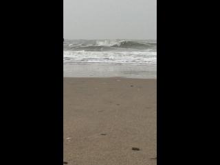 Океан,побережье Голландии...
