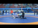 Achilles Lock to Toe Hold russia national uww 2017