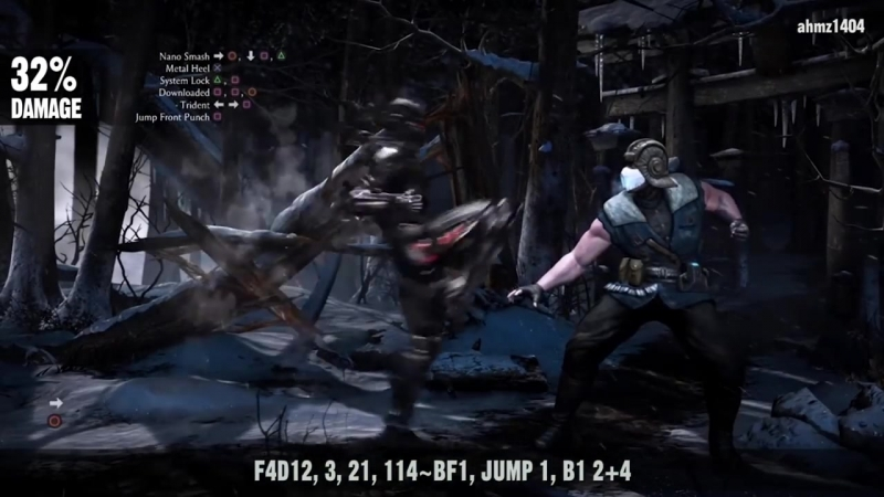 Mortal Kombat X׃ TRIBORG (Smoke) Combo Guide