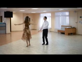 Большой фигурный вальс.Схема танца