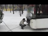 52 Февраля Киев_Сырец БТР с Лазом