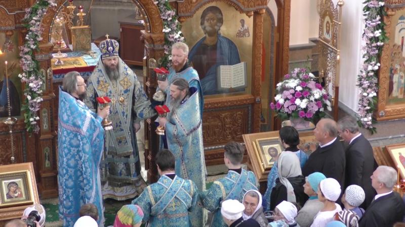Празднование Покрова Богородицы и пятилете Храма в Озёрске