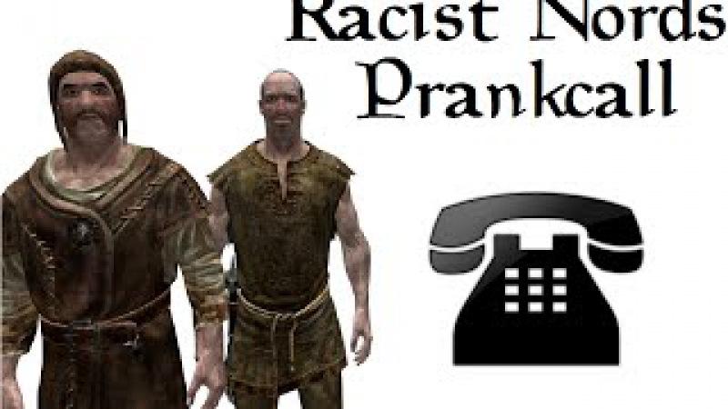 Racist Nords call Immigration Centers - Skyrim Prank call
