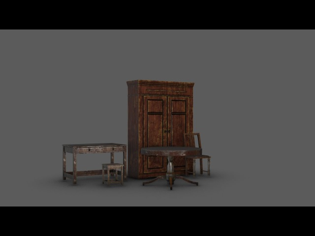 Modeling furniture 3ds max substance painter tutorial final part