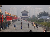 Xi'an, China City Walls &amp Goose Pagodas in 4K (Ultra HD)