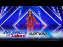 Angelica Hale 9-Year-Old Singer Stuns the Crowd With Her Powerful Voice - Americas Got Talent 2017