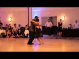 Jonny Lambert and Virginia Vasconi from DNI Tango  Chicago Tango Week 2014  La Tapera