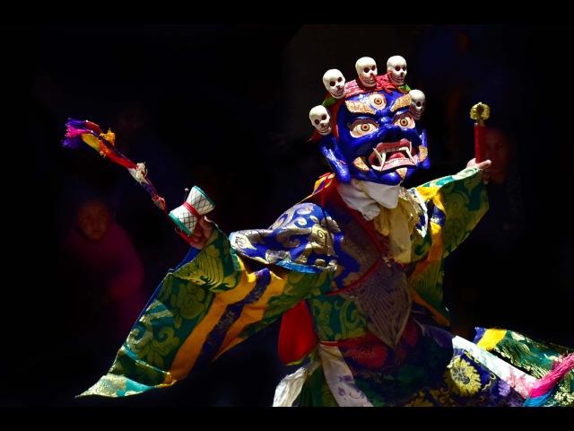 Занскар Буддийская мистерия Карча Густор, Занскар. Часть 2 Махакалы, 14 июля 2015 года.