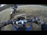 Два Baltmotors Dakar, Пек-Кукарек и Yamaha 18.03.2017 Enduro бросок.