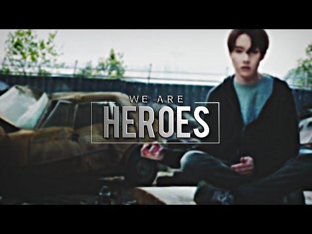 BTS | Heroes [SUPERPOWER AU]