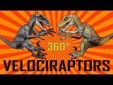 Rebor  Velociraptoren 360 - Alex, Jack &amp Winston vs King T-Rex - Vergleich  Comparison