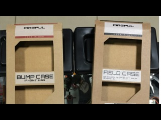 Краткий рассказ о бамперах magpul bump & field cases для Iphone 5 5S SE Russia на русском