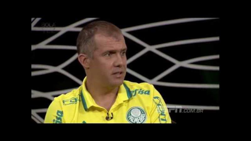 Eduardo Baptista sobre Ronaldinho no Fluminense: Não consegui barrar