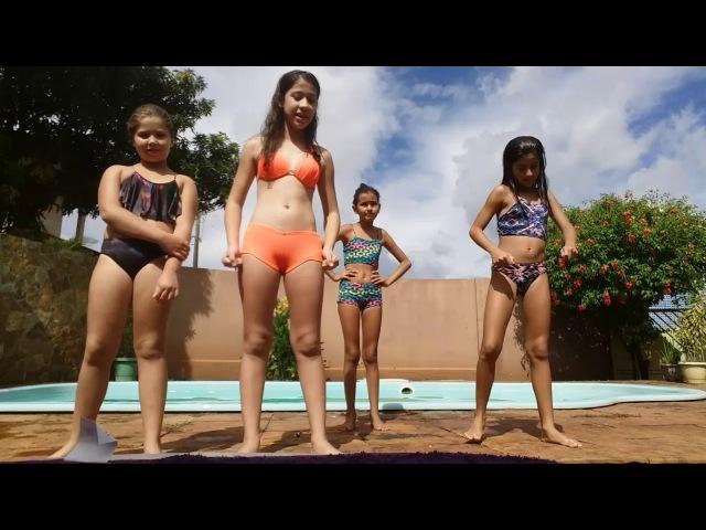 Desafio da Piscina.(Feat. Sophia Capacio, Letícia godoy e Izabelly santos.