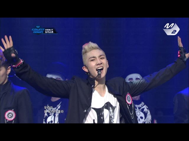 [Produce101 season2 NUEST] NUEST_FACE @ M COUNTDOWN Debut Stage 170317 EP.18