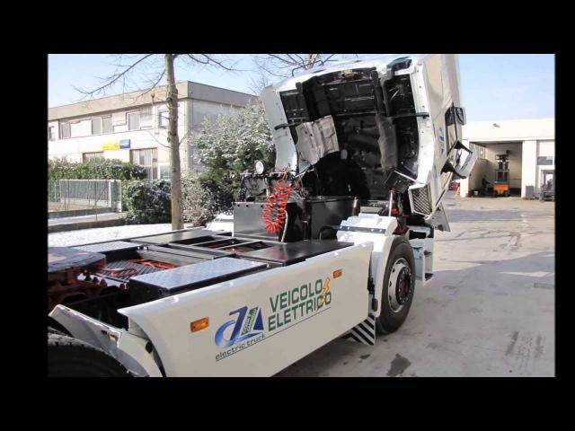 Electric Trucks Veicolo elettrico Camion Ecologico