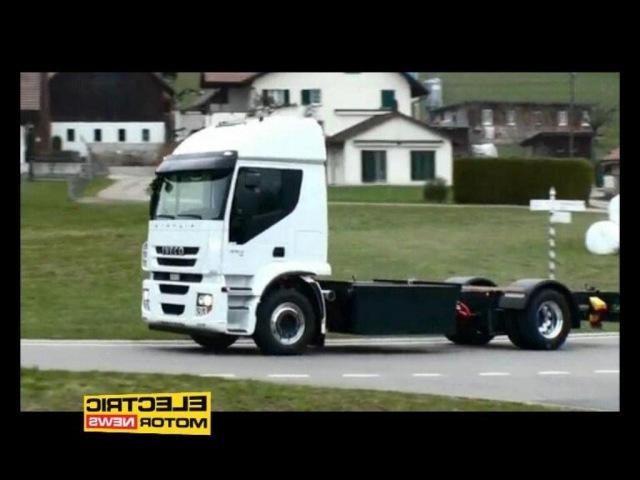 Camion elettrico svizzero E-Force - Electric Motor News n° 19 (2015)