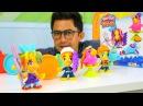 Play Doh seti! Keyif okulu NailBaba Berber Oyunları. Kuaför oyunu! Evcilik oyuncakları. Çocuk video