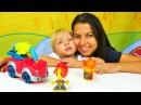 Aslı ve Ayaz Play Doh itfaiye arabası oyun hamuru seti Eğitici çocuk oyuncakları