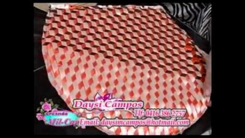 Trenzados en cinta tridimensional 1 / Daysi Campos