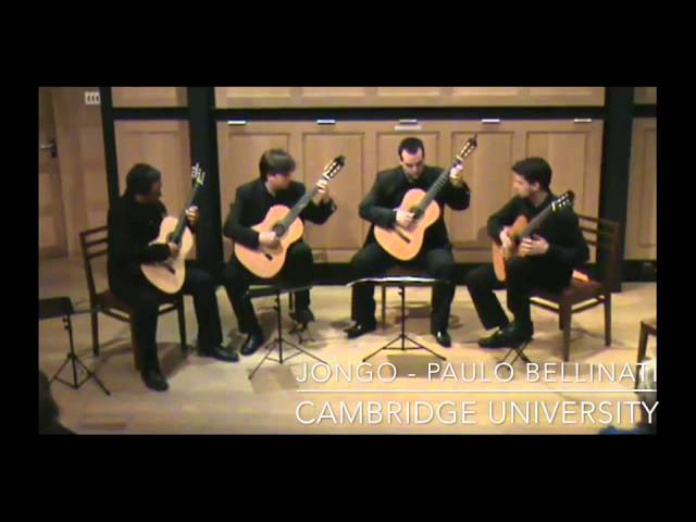 TAU Quartet - Jongo by Paulo Bellinati