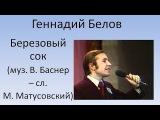 Геннадий Белов - Берёзовый сок