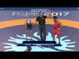 1/8 Final.GR - 80kg: 🇦🇲 Maksim Manukyan def. Alex Bjurberg Kessidis 🇸🇪 8-4