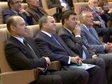 Евгений Куйвашев на торжественном приёме поприветствовал участников и гостей 20 Менделеевского съезда