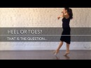 Heel or toes? that is the question ... - Mini Practice (39)