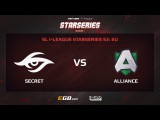 Team Secret vs Alliance, Game 2, SL i-League StarSeries Season 3, EU