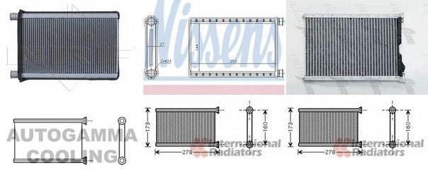 Теплообменник, отопление салона для BMW X1 (E84)