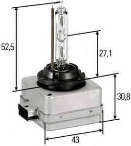 Лампа накаливания, фара рабочего освещения; Лампа накаливания, основная фара; Лампа накаливания, основная фара для BMW X1 (E84)