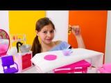Мультики для девочек: вечеринка у #Барби! Кен отправляется в салон красоты. Видео про кукол