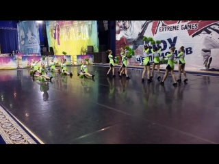 Freestyle pom Team Juniors Indigo