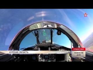 «Бочка» и «петля Нестерова»- кадры воздушной дуэли на МиГ-29СМТ