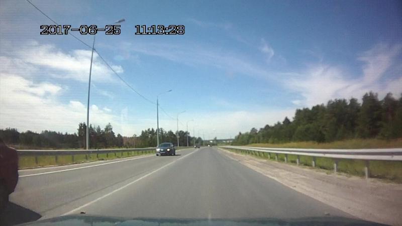 Объезная Тюмень-Омск почти ДТП