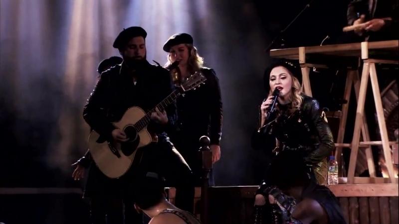 Madonna - Masterpiece (Live at Paris Olympia club 2012)
