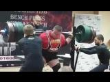 Влад Алхазов (Израиль), присед в бинтах - 470 кг 💪